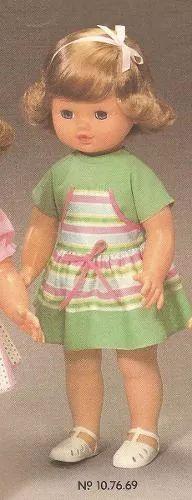 linda boneca carina estrela 1987 toda original e na caixa