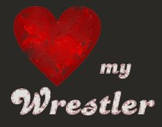 Love my wrestlers...cheered wrestling through high school, married a wrestler and birthed 2 wrestlers...spent lots of time in the gym!