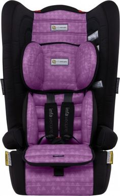 Infa Secure Comfi Treo Booster Seat Purple