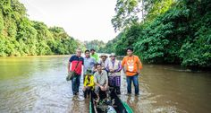 Releasing Sun Bears http://www.brucelevick.com/releasing-sun-bears/ Releasing two sun bears in the remote rivers of southern Aceh after the two were caught up in human/elephant conflict. A quick stop after the release for a snap shot with the team.  #Berdir, #Conservation, #Indonesia, #Photography, #Release, #River, #Sumatra, #SunBears, #Travel