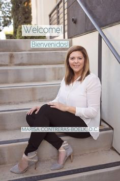 Dr. Marisa Contreras Boelk, a chiropractor who will come to you! Book an appointment online.