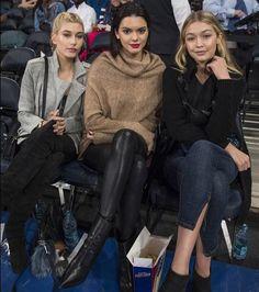 Hailey baldwin , Gigi Hadid e Kendall Jenner