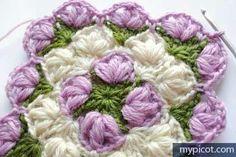 Best piastrelle images crochet granny crochet