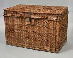 Wicker trunk attributed to Joachim Schildhauer, New Holstein, Wisconsin, 1890-1915 | Flickr - Photo Sharing!
