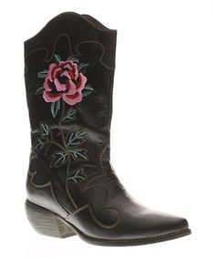 Look what I found on #zulily! Spring Step Black Cheyenne Boot by Spring Step #zulilyfinds