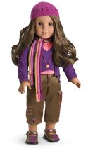 American Girl Doll of the year  2005. ~ Marisol ~ Archived in 2006, Marisol Luna brings to life the story of a girl who was born to dance.  When Marisol family moves from Chicago to the Suburbs, her passion for dancing helps her to persevere in the face of change.
