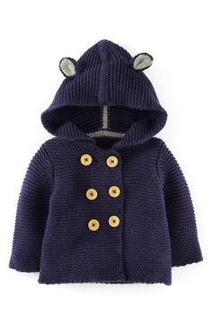 Mini Boden Knit Jacket (Baby Boys) available at #Nordstrom