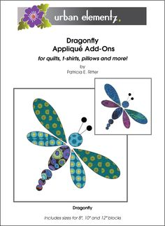 Dragonfly - Applique - Pattern
