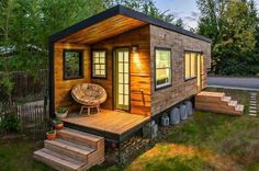 House made out of old shipping container