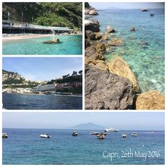 Sharing with you a beautiful day at Bagni di Tiberio, Capri. What a privileged island to live...