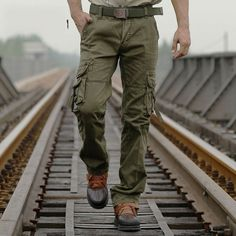 NEW MENS TACTICAL OVERALLS PANTS MILITARY SECURITY CARGO COMBAT TROUSERS