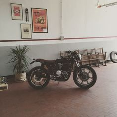 motomood: Kawasaki Z500 cafe racer | Apache custom  motomood:  Kawasaki Z500 cafe racer | Apache custom