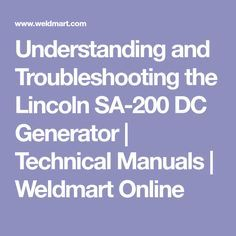 Lincoln sa200 wiring diagrams lincoln sa200 wiring main diagram1 troubleshooting your lincoln welding machine often requires an understanding of the dc generator this guide discusses the exciter generator and exciter swarovskicordoba Gallery
