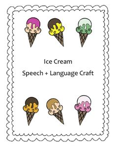 This craft is perfect for speech, language, spelling, vocabulary, math facts and more!