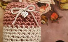 Vasetto romantico Le1000ideediBamù #crochet #uncinetto
