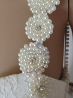 BR11-3 Inbal Dror, Pearl Necklace, Pearls, Jewelry, Bodas, Jewellery Making, String Of Pearls, Jewerly