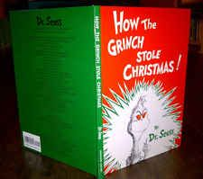 DR. SEUSS~How the Grinch Stole Christmas!~1985~Children's ~ Hardcover~ EXC