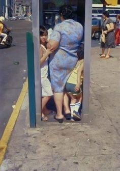 new york, 1988 • helen levitt. I would think this was a picture with me and my grandmother, but I was 18 when it was taken, not 8.