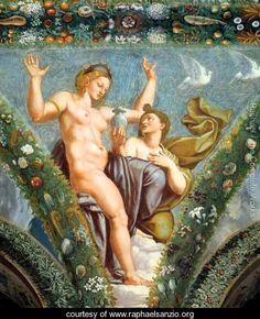 Venus and Psyche - Raphael - www.raphaelsanzio.org