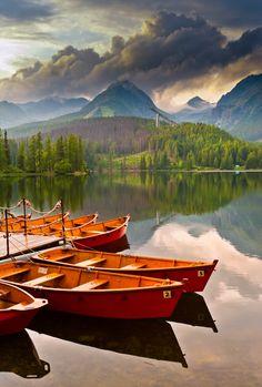 Strbske Pleso, High Tatras, Slovakia by Aga Put