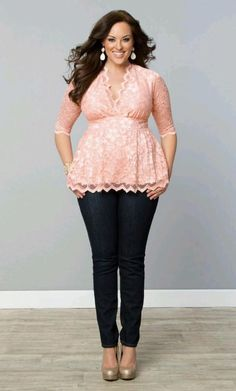 I think peplum dresses and outfits like this might be a good option for me.  ?  Hides belly and other things...