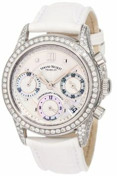 Armand Nicolet Women's 9154V-AN-P915BC8 M03 Classic Automatic Stainless-Steel with Diamonds Watch $23,900.00