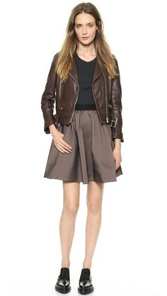 Acne Studios Romantic Taffeta Skirt