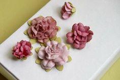 A new paper flower tutorial