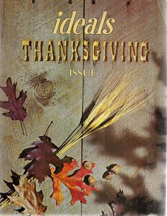 Vintage Thanksgiving Ideal Magazine