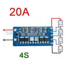 4S 20A Li-ion Lithium Cell 18650 Battery BMS Protection PCB Board 14.8V 16.8V | eBay Aaa Battery Charger, Rechargeable Battery Charger, 18650 Battery, Class D Amplifier, Pcb Board, Circuit, Ebay