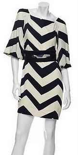 love this DVF chevron stripe...I could wear black & white all day, every day.