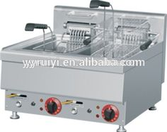pezo kitchen 2 basket and 2 tank commercial fryer