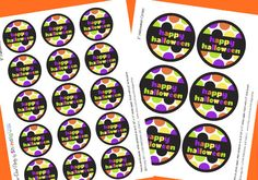 Printable Halloween Gift Tags [Free Printables] ~ Be Different...Act Normal