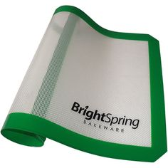 2 Day Sale - BrightSpring Silicone Baking Mat - Non-Stick Cookie Sheet Liner Fits Half-Size Pan - eBook - Easy-Clean Bakeware >>> For more information, visit : baking necessities