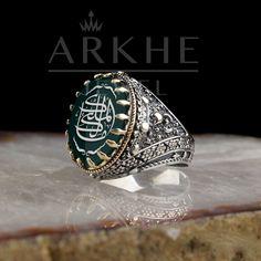 Mâliku'l-Mülk Yazılı Erkek Yüzük - Arkhe Jewel Class Ring, Rings, Jewelry, Jewlery, Jewerly, Ring, Schmuck, Jewelry Rings, Jewels