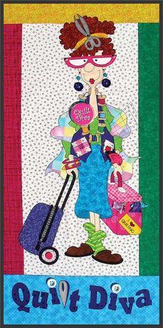 Quilt Diva Quilt Pattern - $10