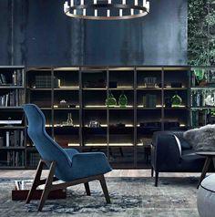 Moderne Innenarchitektur Konzepte Poliform Bücherschrank