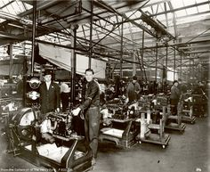 Henry Ford assembly lines