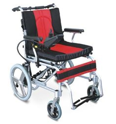 Wheelchair - Motorized - FS102LAEPF1  20 Kms Range Foldable LIGHT WEIGHT ALUMINUM COMPACT Frame