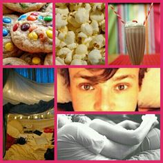 """""""Sleepover!"""" Ashton giggled as you walked through his front door. """"Yay!"""" you mimicked in the same giggly voice he had just used. """"So since its already 8:00 i was thinking we could watch movies and eat?"""" he suggested. """"I was hopeing you would say that!"""" he then took your hand and lead you to the living room where there was a huge fort with pillows and blankets with Hanging lights surrounding the enterance. And on the coffee table in front of the couch was a plate of m&m's cookies, a huge bowl…"""