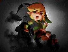 Dark Link and Link (just edited it)