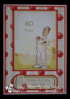 A5 Size Card - Cricket Theme