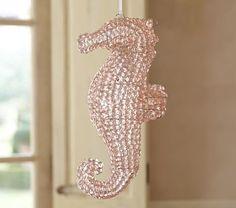 Hanging Crystal Seahorse #pbkids