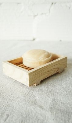 Hinoki Wood Soapdish