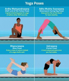A few SUP yoga poses to practice! Paddle Board Yoga, Standup Paddle Board, Yoga Sequences, Yoga Poses, Fish Pose, Bow Pose, Sup Yoga, Sup Surf, Learn To Surf