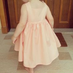 The sally dress by very shannon. Sewing for girls. Toddler dress. Party dress