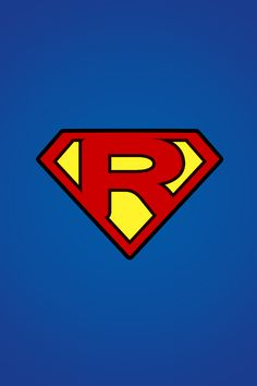 Superman Logo with a R | logo - mobile9