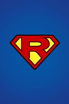 Superman Logo with a R | logo - mobile9