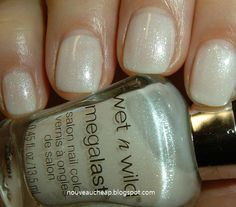 4 beautiful, neutral jelly polishes from Wet N Wild Megalast.  About $2 a bottle. Happiness.