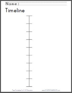 printable timeline template 01 300 lapbooking ancient civ